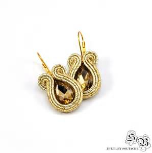 small gold earrings small gold soutache earrings gold soutache earrings gold