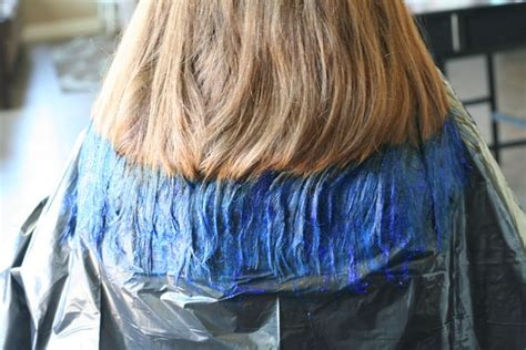 hair color on bottom how to dip dye hair at home and save 60 it s a lovely