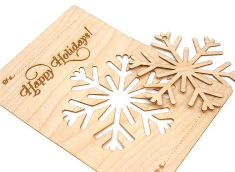 Moderner Weihnachtsbaum 4363 by Wood Snowflake Ornament Card Laser Cut Modern