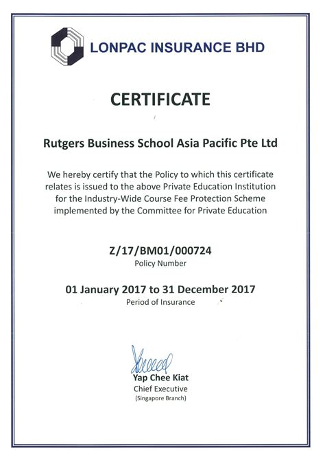 Post Mba Certificate Rutgers by Education Institution Rutgers Business School