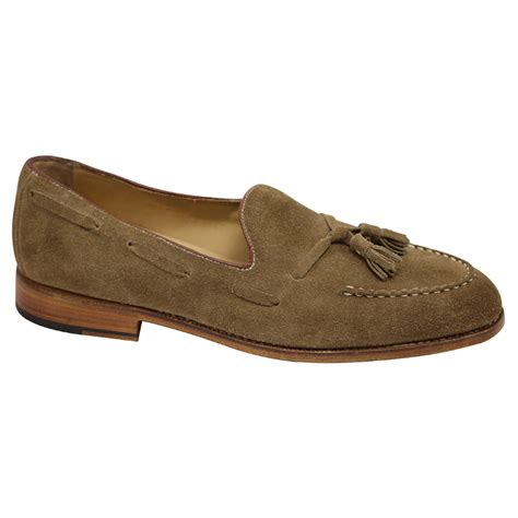 goodyear welted loafers nettleton barrington suede goodyear welted tassel loafers