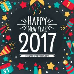 happy new year 2016 background vector free download
