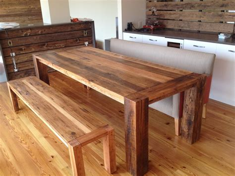 how to make a dining bench how to build a dining room table