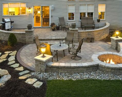 backyard stone ideas best 20 backyard patio ideas on pinterest