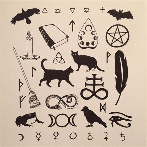 atomic tattoos friday the 13th wiccan symbols www pixshark images galleries with