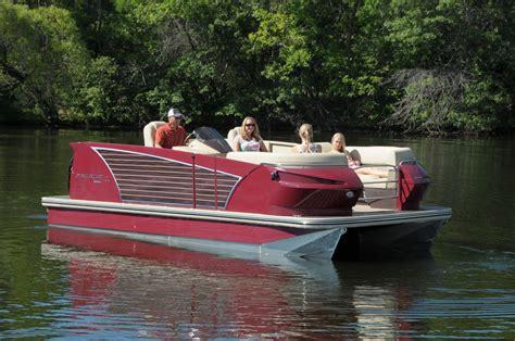 are larson pontoon boats good pdb tests new larson pontoon pontoon deck boat magazine