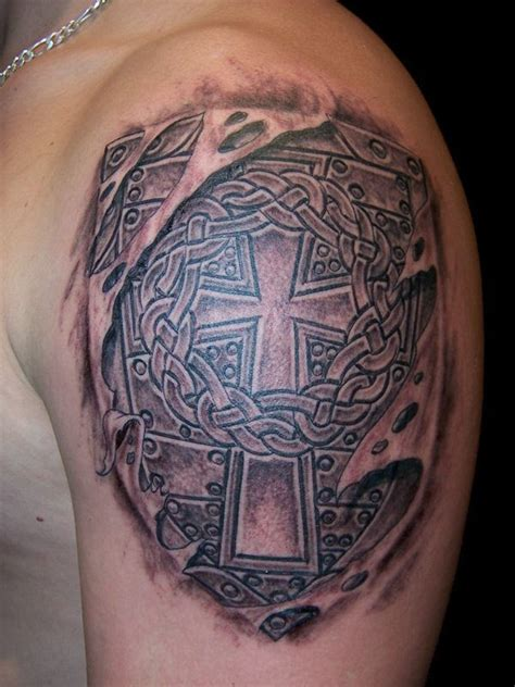 shoulder shield tattoo 28 best shoulder armor images on armors