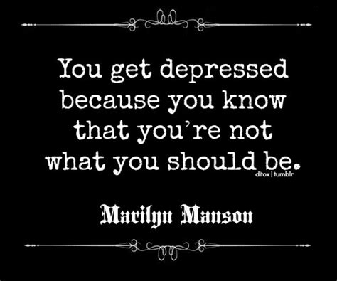 Marilyn Fighting Depression by Depressed Quotes Quotes