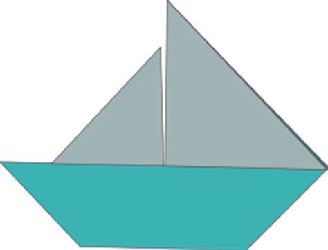 roeiboot vouwen origami segelboot cliparts clipart clipartlogo