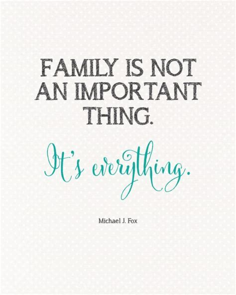 quotes for family family is everything quote landeelu