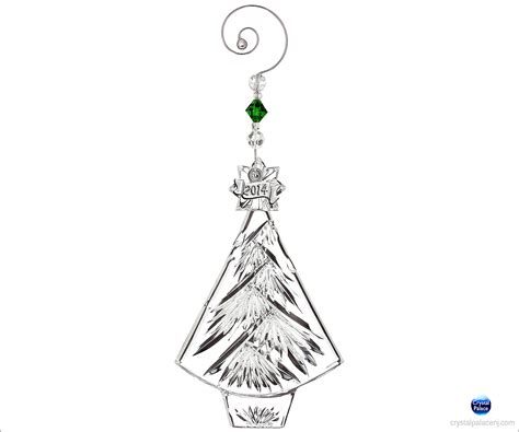 waterford 2014 christmas tree ornament