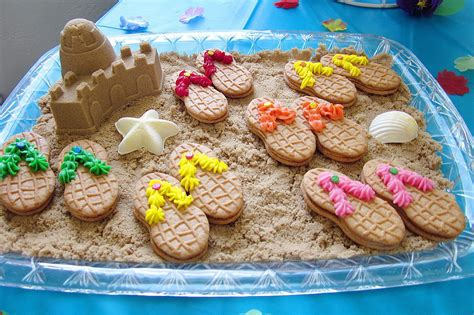 Polynesian Home Decor by Diddles And Dumplings Hawaiian Party Desserts