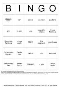 8th grade math bingo cards to download print and customize