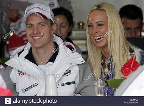 Cora Schumacher At Monaco Grand Prix With Marc Bag by Formula One Driver Ralf Stockfotos Formula One