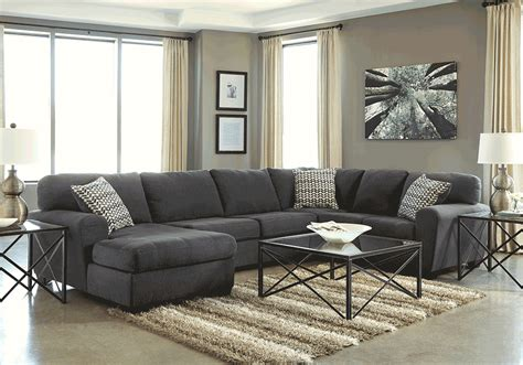 3pc sectional with chaise sorenton slate 3pc laf chaise sectional louisville