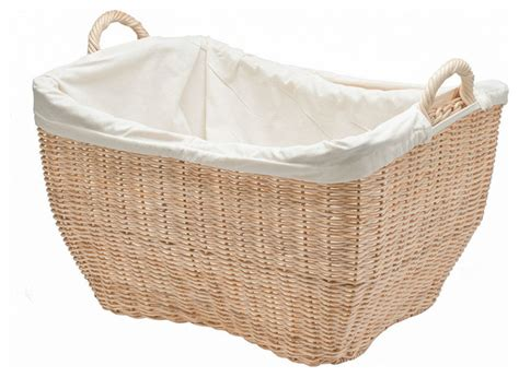 wicker laundry with liner wicker laundry basket with liner color contemporary baskets other metro by kouboo