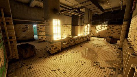 prison bathroom prison bathroom by mackenzie shirk in environments ue4