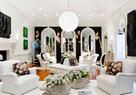 Living Room Flowers Ideas Geoffrey Bradfield Inc Eclectic Living Room New