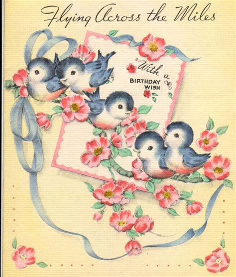 25 best ideas about vintage birthday cards on vintage birthday cards best 25 vintage birthday cards