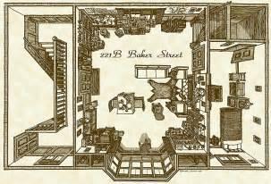221b baker floor plan ベーカー街221b