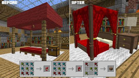 how to place a bed in minecraft decocraft minecraft mods