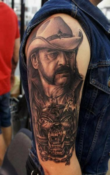 motorhead tattoo lemmy motorhead lemmy motorhead and