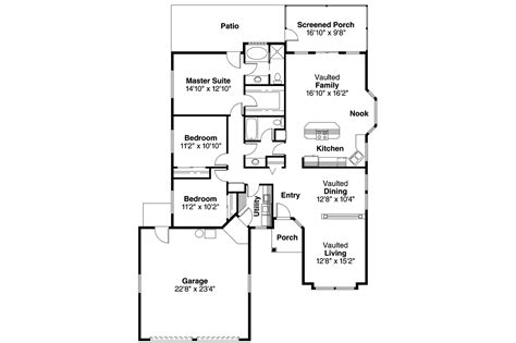 mediterranean house floor plans mediterranean house plans quincy 11 017 associated designs