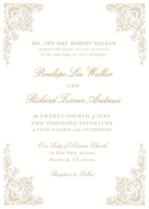 wedding invitations hartford ct hartford prints invitations hartford ct weddingwire