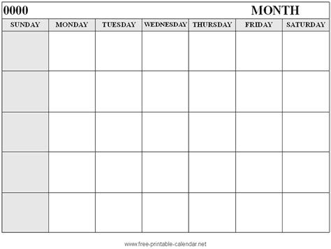 calendar templates for pages monthly printable calendars with large print calendar