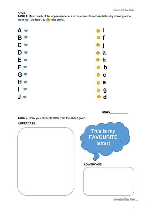 alphabet revision worksheet for preschool from aa to jj
