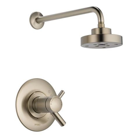 Brizo Shower Faucets by Faucet T60275bn In Brilliance Brushed Nickel By Brizo