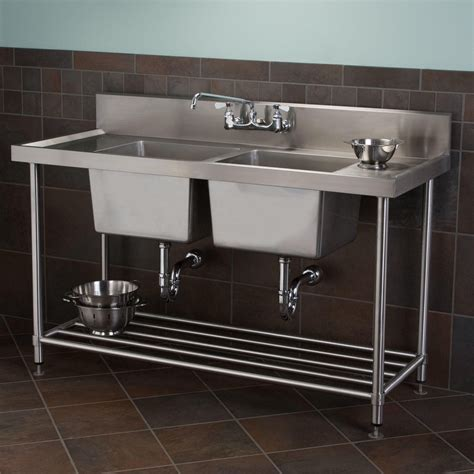 Kitchen Sink Cabinet Combo Stainless Steel Sink Stand Alone Befon For