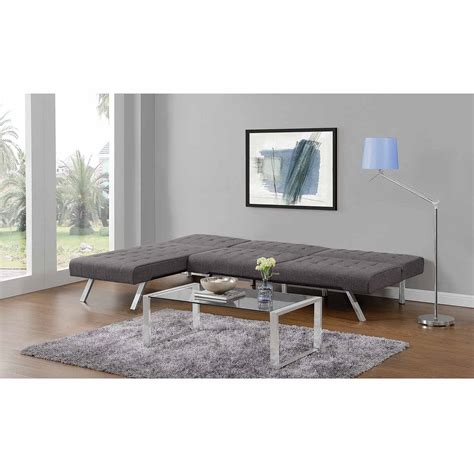 emily futon with chaise lounger multiple colors futon chaise bm furnititure