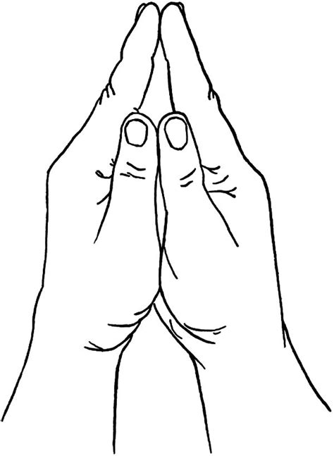 coloring page of praying hands praying hands coloring pages best place to color