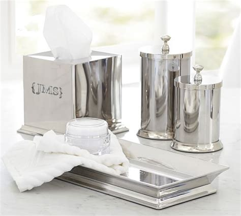 pottery barn bathroom hardware mercer bath accessories pottery barn