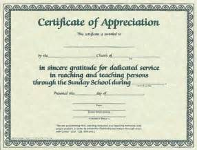 religious certificate of appreciation template certificate of appreciation for sunday school worker