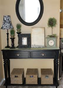 Entry Table Ideas by The Walkers Entryway Table Dilemma