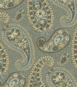 home decorators fabric home decor print fabric waverly caftan paisley moonstone