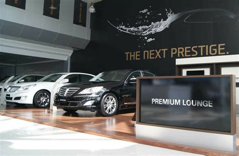 genesis sales and marketing new premium showrooms for genesis and equus hyundai will