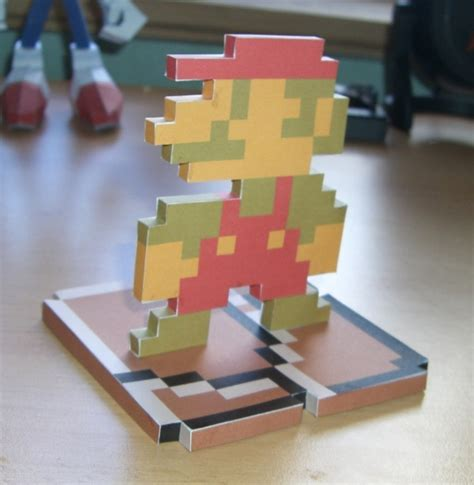 mario crafts for mario papercraft by kaczorro on deviantart