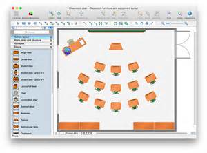 classroom floor plan exles classroom objects drawings