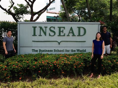 Mba Strategy Insead by Singapore The Radical Sabbatical