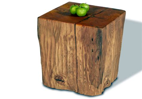 Stump Side Table Tree Stump Side Table Brings Nature Fragment Into Your Interior Homesfeed