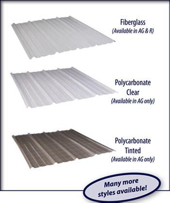 Corrugated Patio Roof Skylight Panels