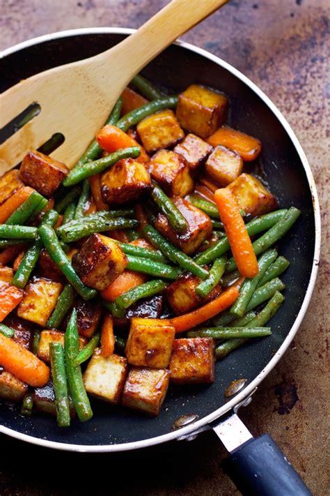 best wok for stir fry sesame tofu and veggie stir fry recipe
