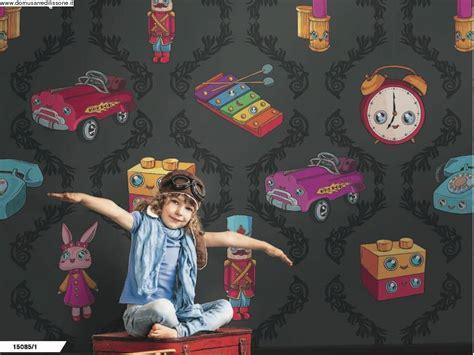 tappezzeria bambini tappezzeria spiritosa per cameretta soggetto giochi per bimbi