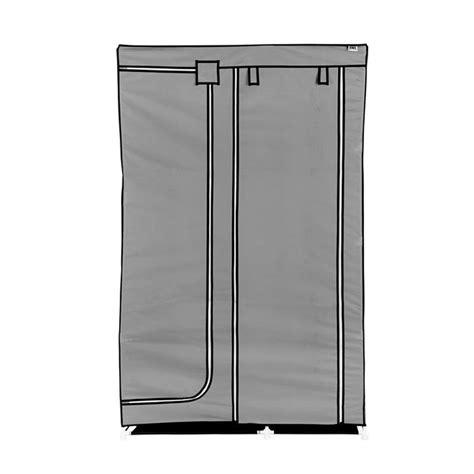 Rak Lemari Portable 4 1 4 Pintu jual nine box lemari pakaian dw grey 2 pintu