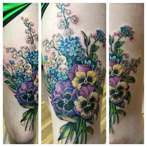 bouquet of flowers tattoo exelent bouquet of flowers composition wedding