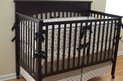 Black And Gold Crib Bedding Black And Gold Fleur De Lis Custom Made To Order 4 Baby Bedding 358 00 Via Etsy My