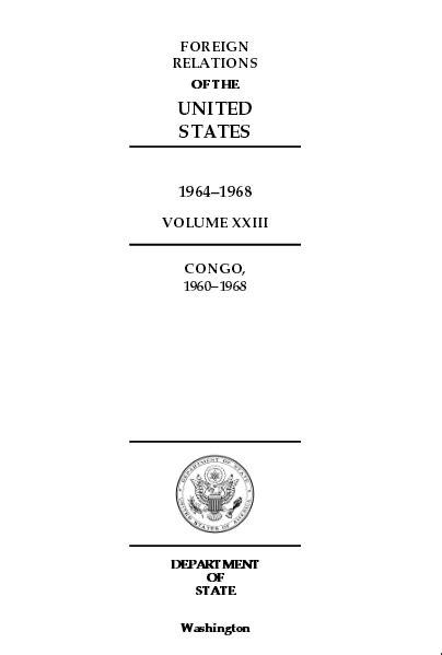 Washington reconoce haber asesinado a Lumumba